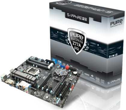 Sapphire PURE Platinum Z77A-PR