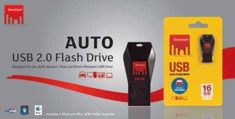Strontium AUTO USB 2.0 Flash Drive