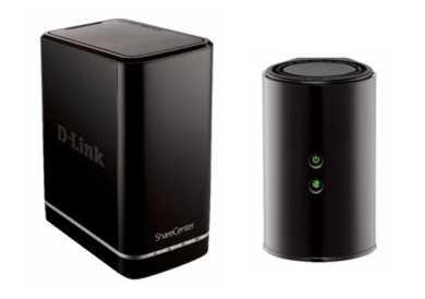D-Link Cloud Router N300, N600, ShareCenter 2-bay NAS