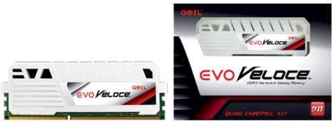 GeIL EVO Veloce DDR3 Frost White Memory Module