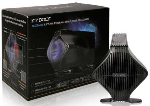 ICY DOCK MB080U3S-1SB BLIZZARD USB 3.0 & eSATA External HDD Enclosure