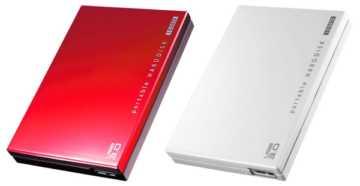 I-O DATA HDPC-UT Series HDDs