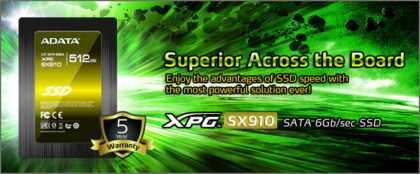 ADATA XPG SX910 SSD