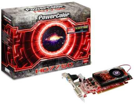 PowerColor Radeon HD 7750 1GB GDDR5 LP