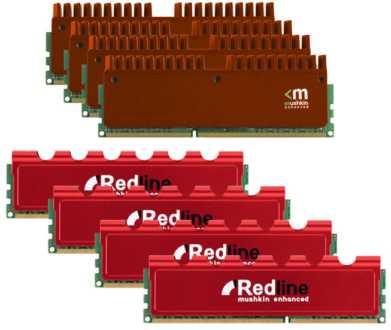 Mushkin Low Latency Redline 16GB DDR3 Memory Kits