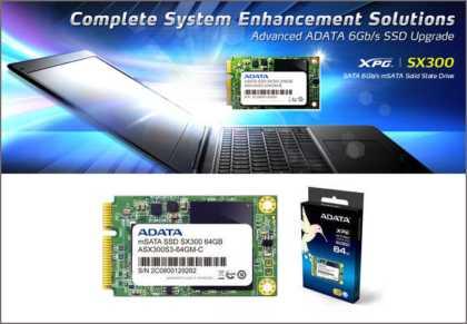 ADATA XPG SX300 SSDs