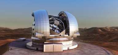 Телескоп E-ELT глазами художника