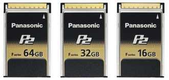 Panasonic P2 F Series Memory Cards