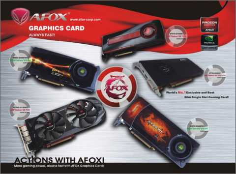 AFOX Graphics Cards