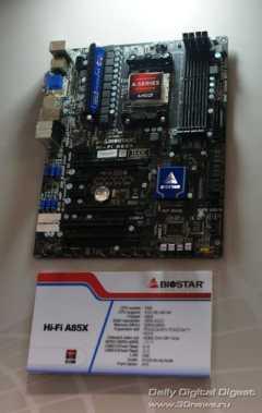 Biostar Hi-Fi Series A85X