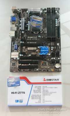 Biostar Hi-Fi Series Z77S