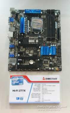 Biostar Hi-Fi Series Z77X