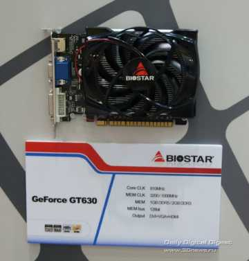 Biostar GeForce GT 630
