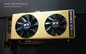 ECS GeForce GTX 680 Black Series