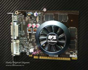 ECS GeForce GT 640 Black Series