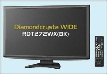 Mitsubishi Diamondcrysta WIDE RDT272WX(BK)