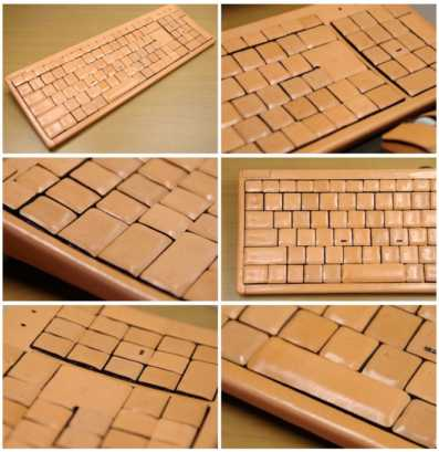 Atelier Wazakura Honkawa 2 Leather Keyboard