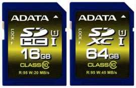 ADATA Premier Pro SDHC & SDXC Cards