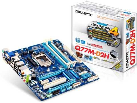 GIGABYTE GA-Q77M-D2H